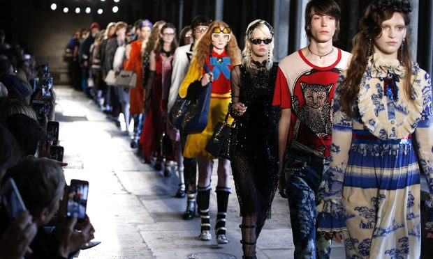 f335194f46c The move toward gender-fluid fashion shows is getting a big-name boost —  from Gucci.