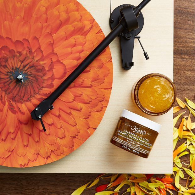 Kiehl's Calendula and Aloe Soothing Hydration Masque. IMAGE Kiehl's