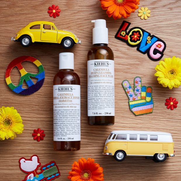 Calendula Herbal Extract Toner and Calendula Deep Cleansing Foaming Face Wash. IMAGE Kiehl's
