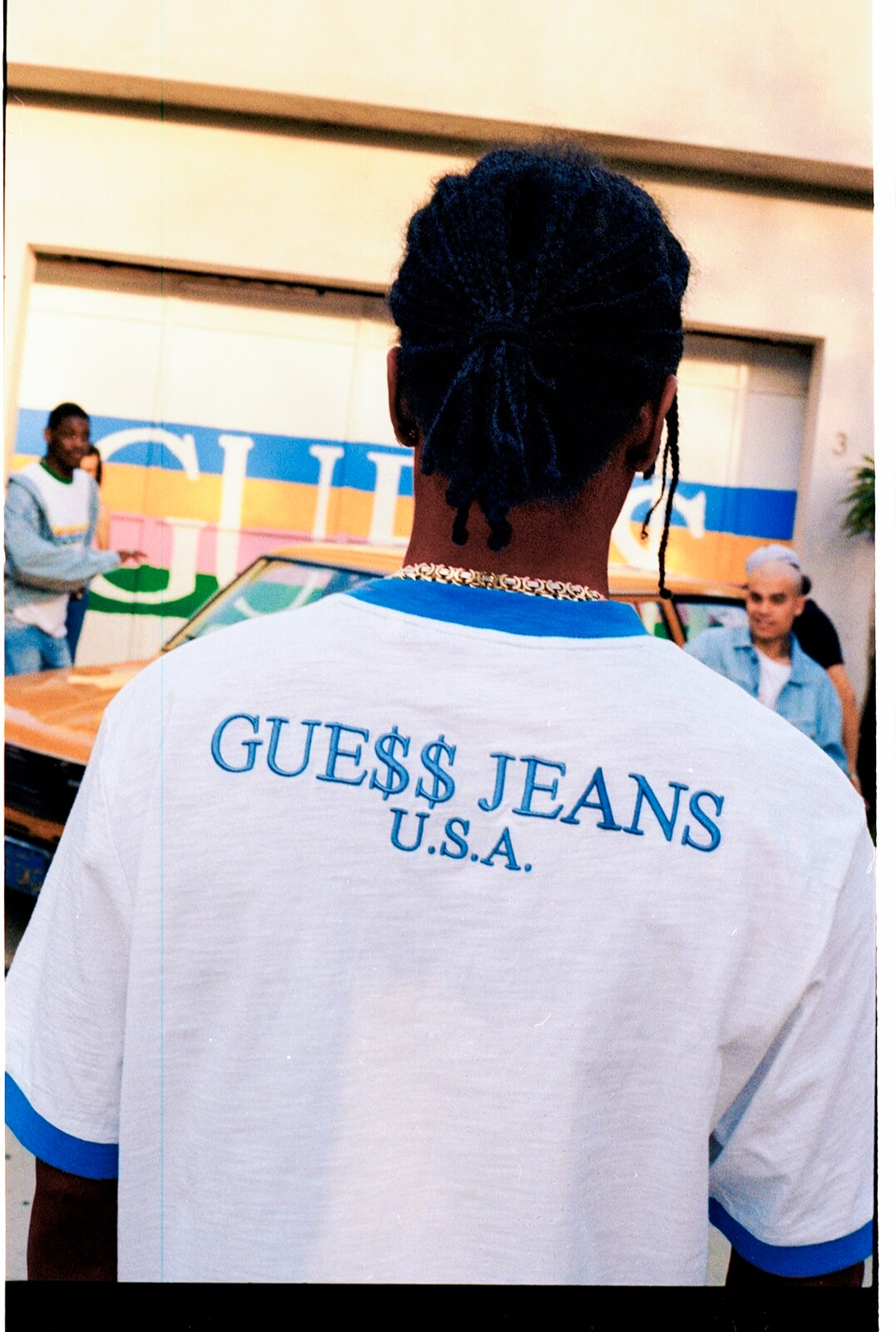 2b5ba50473f8a Check this out ASAP  The newest GUESS Originals X A AP Rocky capsule  collections are finally here