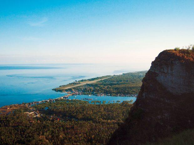 The view from Bud Bungao's peak